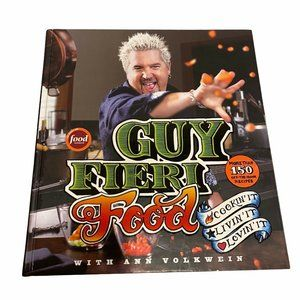 Guy Fieri Food Hardcover First Edt